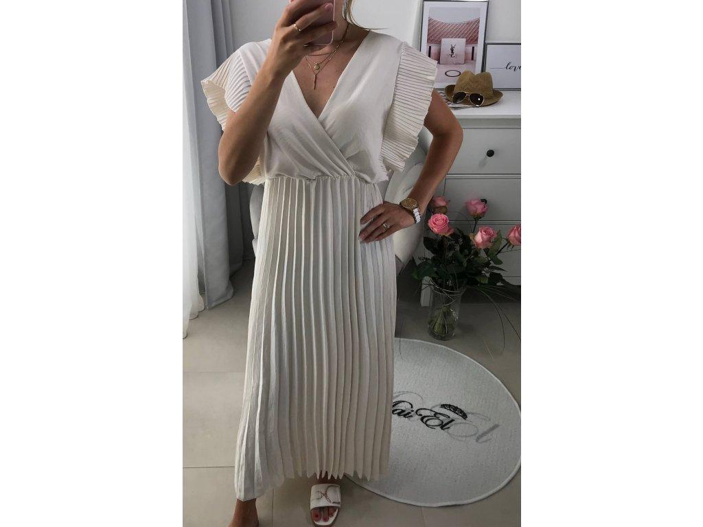 Elegantní dlouhé šaty Nisa
