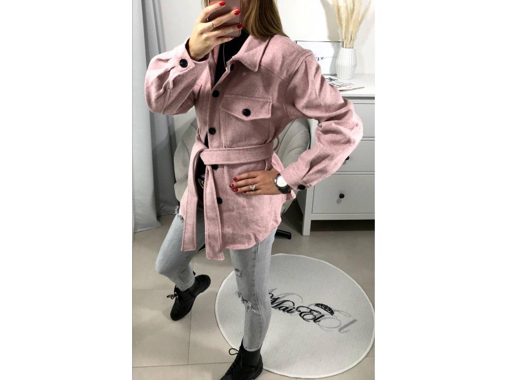 Kabátek růžový Meryli