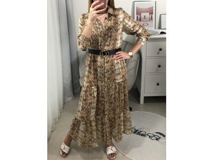Dlouhé šaty Sevy