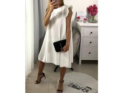 Bílé šaty Clea