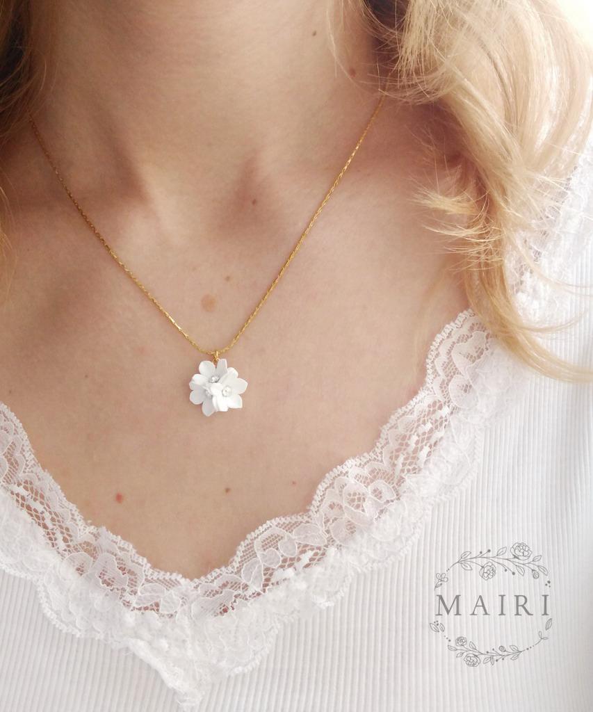 Mairi - svatební náušnice - 20