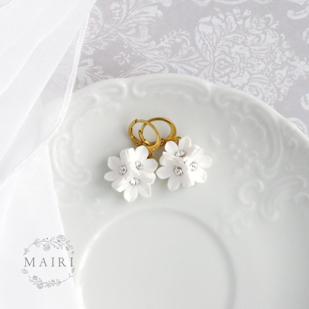 Mairi svatební náušnice 09