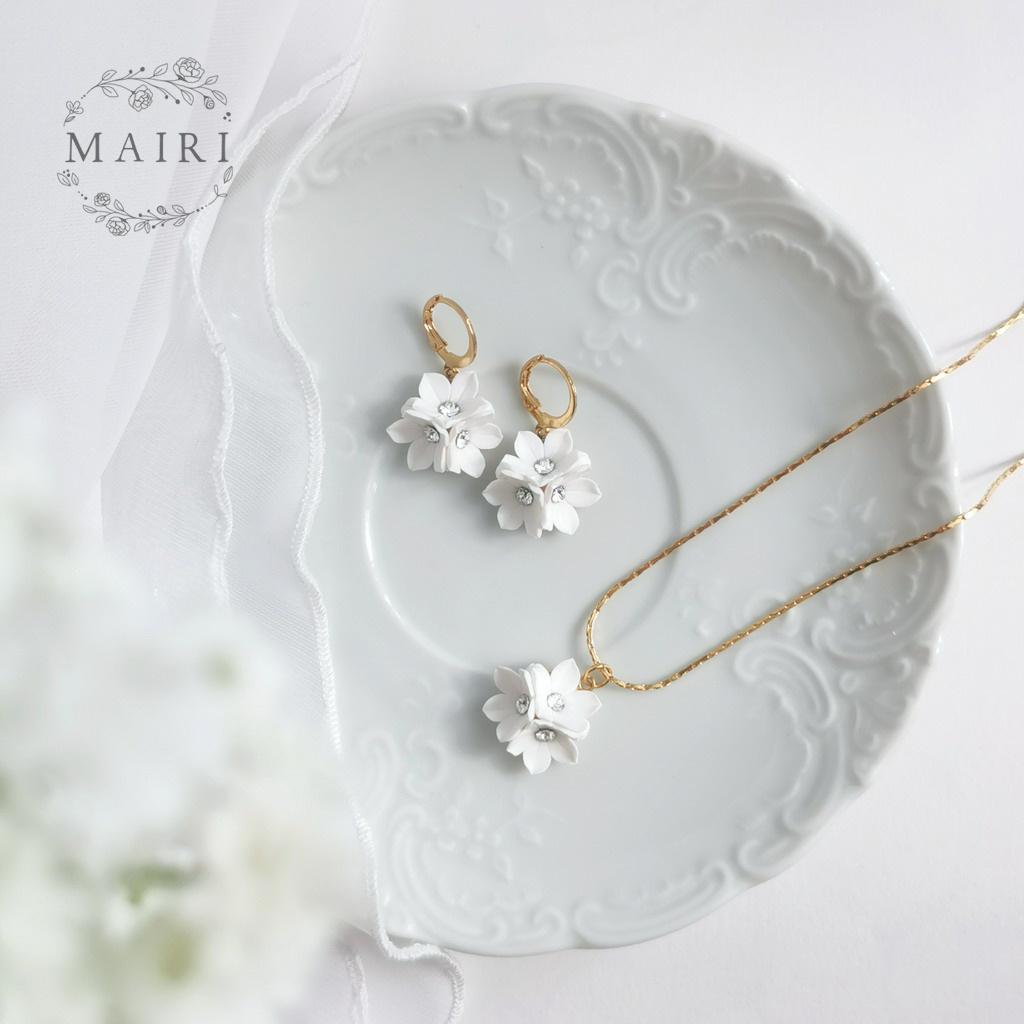 Mairi pozlacená sada svatebních šperků