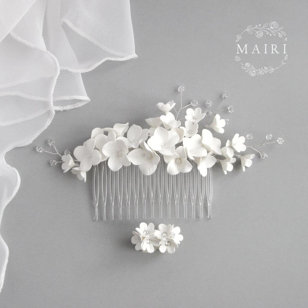 Mairi svatební hřebínek 08