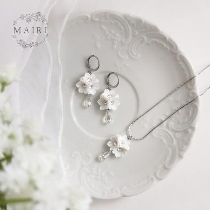 Mairi sada svatebních šperků se Swarovski