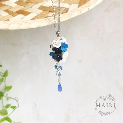Mairi námořnický náhrdelník s květinami 02