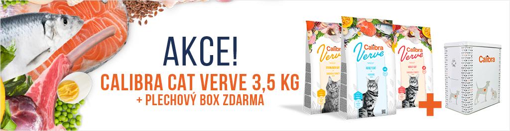 Calibra Verve pro kočky + plechový box