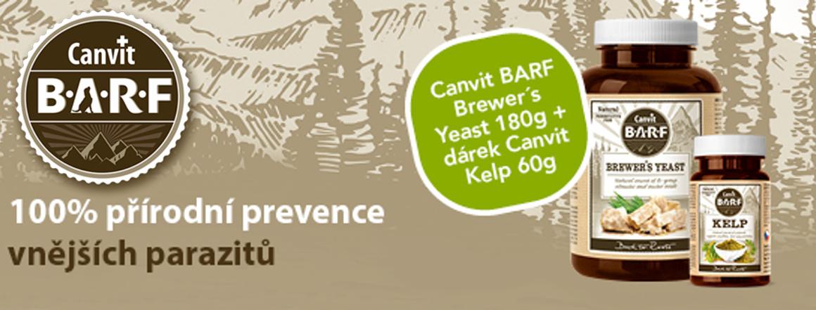 Canvit BARF Brewer´s Yeast 180 g + BARF Kelp 60 g zcela zdarma