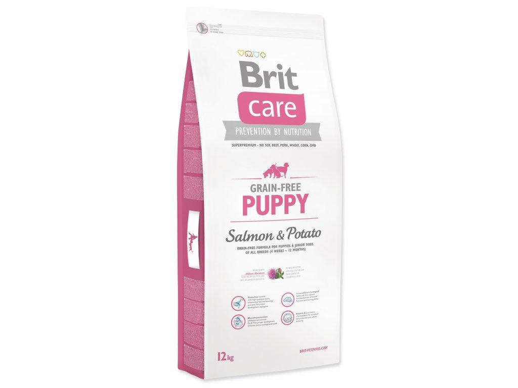 1004 1 brit care grain free puppy salmon potato 12 kg