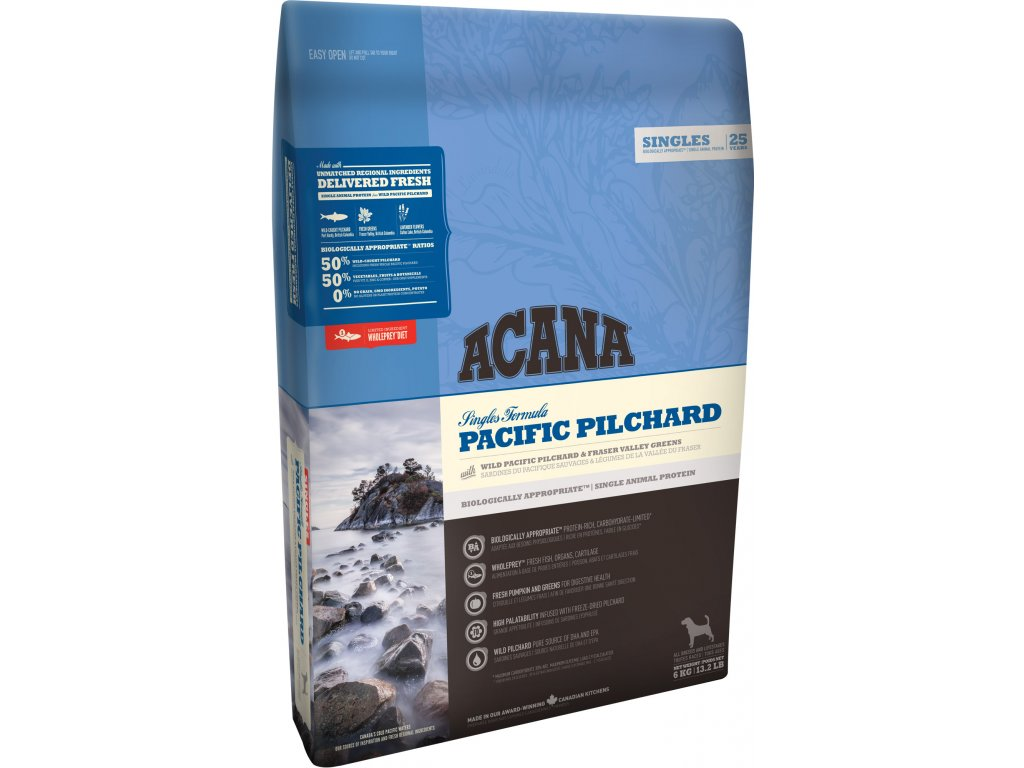 4451 acana singles pacific pilchard 6 kg