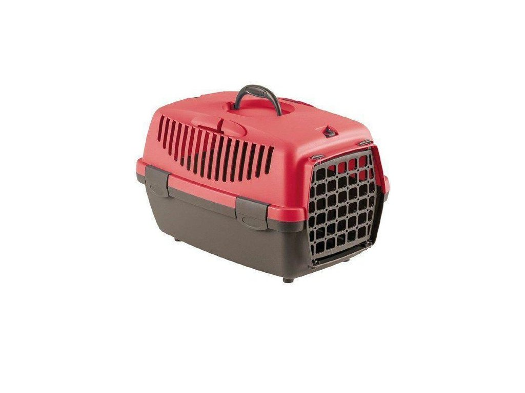 Přepravka pro psy a kočky Gulliver 1 s plastovou mřížkou