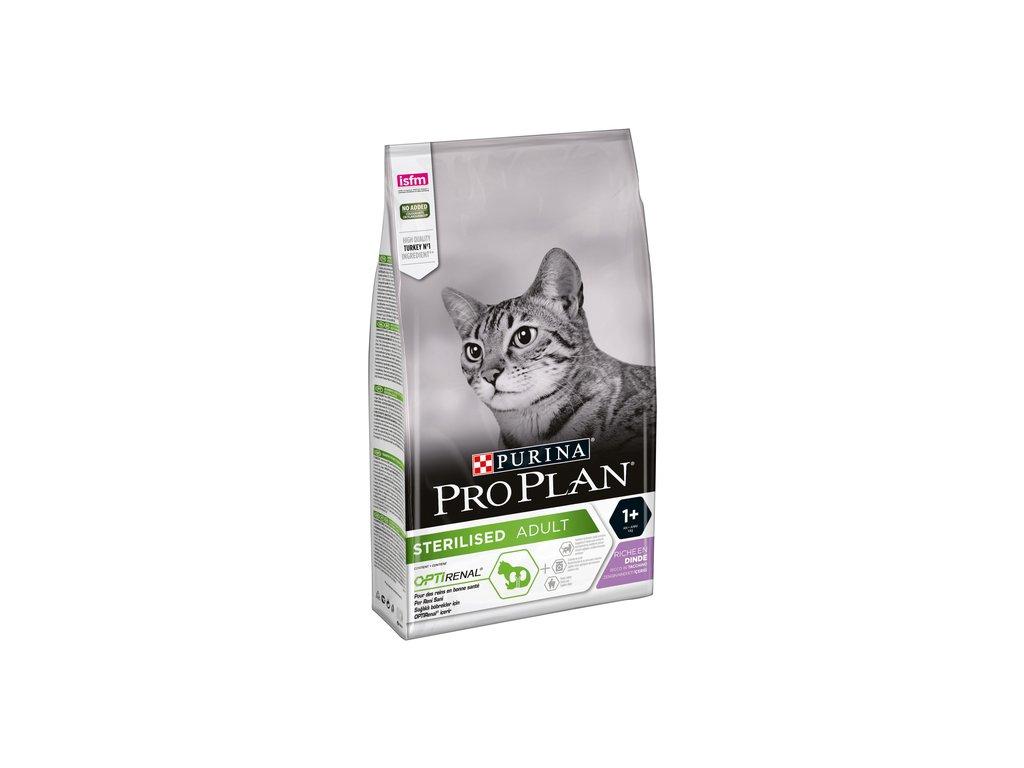 PRO PLAN CAT STERILISED krůta 1,5 kg