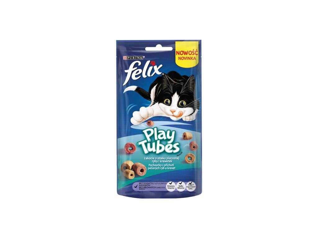 FELIX PlayTubes Baked Fish & Prawn 50 g