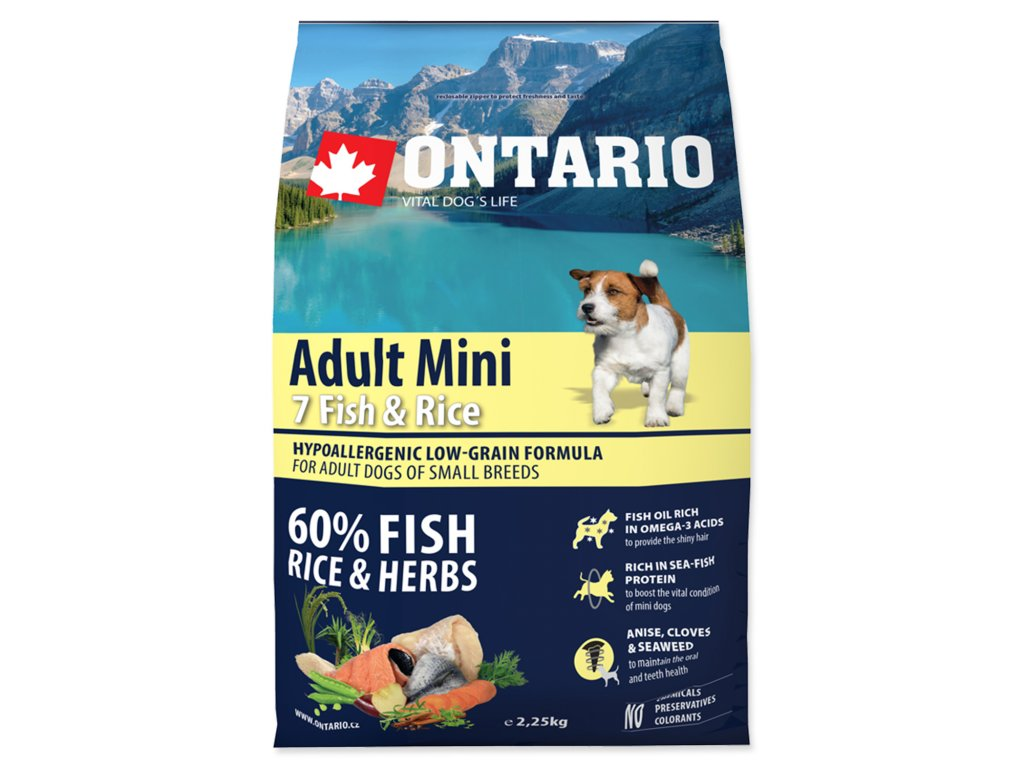 1109 ontario adult mini fish rice 2 25 kg