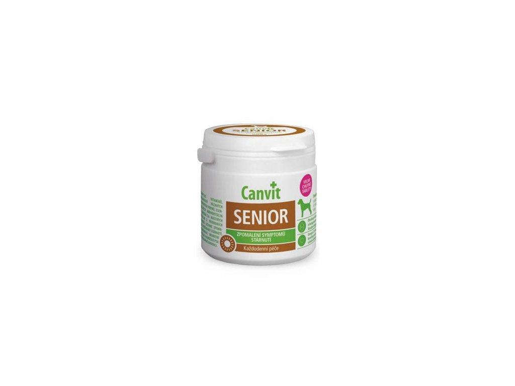 Canvit Senior pro psy ochucený 100 g