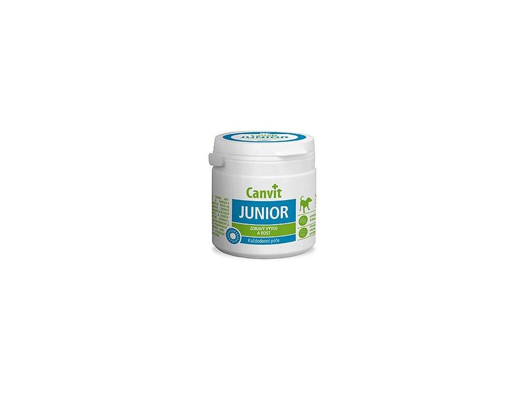 Canvit Junior pro psy ochucený 100 g