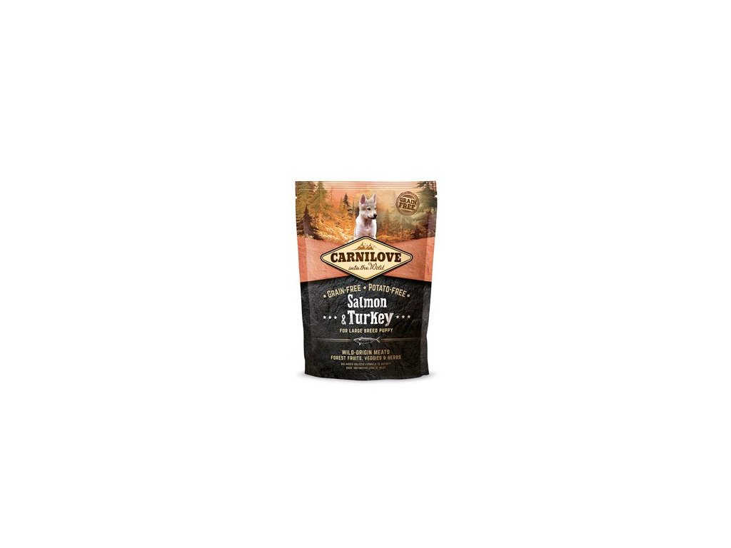 Carnilove Dog Salmon & Turkey for Large Breed Puppies 1,5 kg
