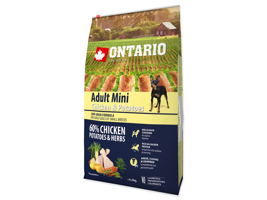 1193 ontario adult mini chicken potatoes 6 5 kg