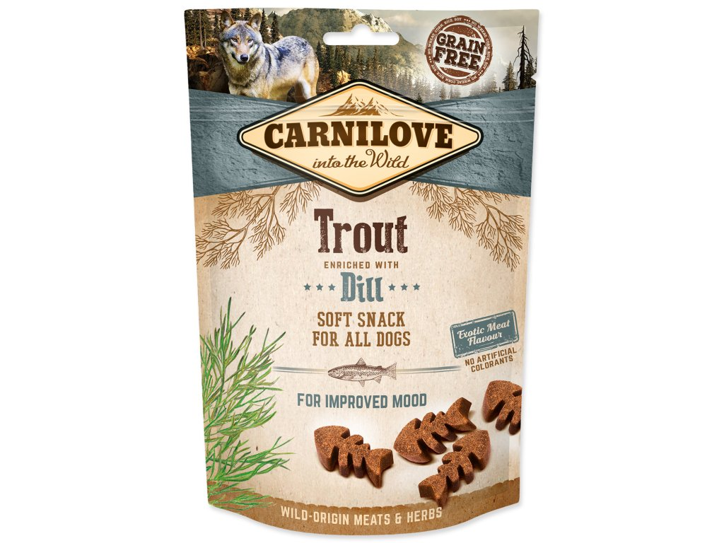 Carnilove Semi Moist Trout enriched with Dill 200 g