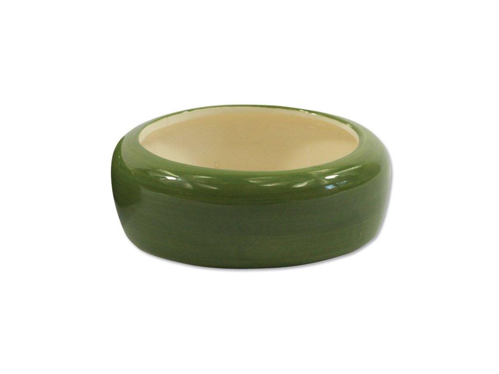Miska Small Animals keramická pro křečky zelená 10 x 3,5 cm