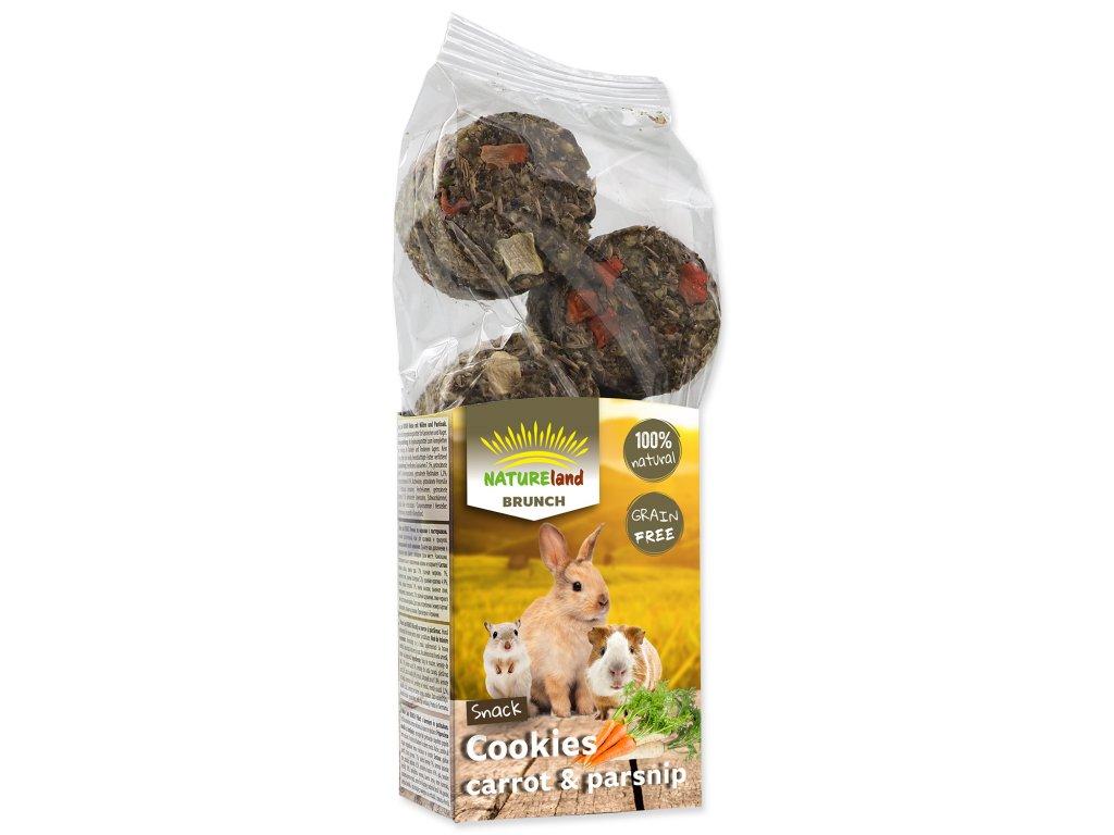 Pochoutka Nature Land Brunch sušenky s mrkví a pastinákem 120 g