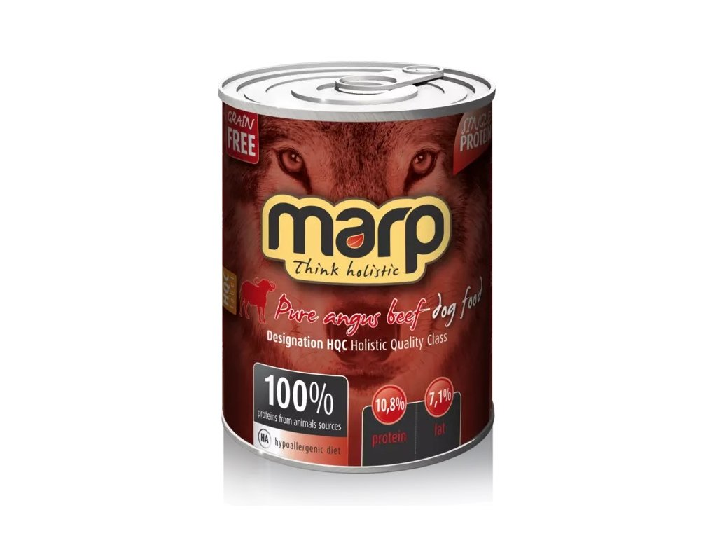 MARP holistic Angus Beef konzerva pro psy s hovězím 400 g