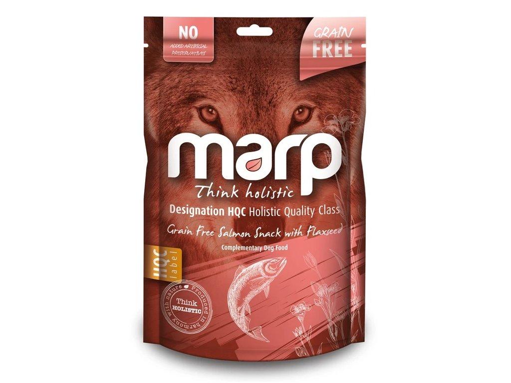 MARP holistic Lososové pamlsky se lněným semínkem bez obilovin 150 g