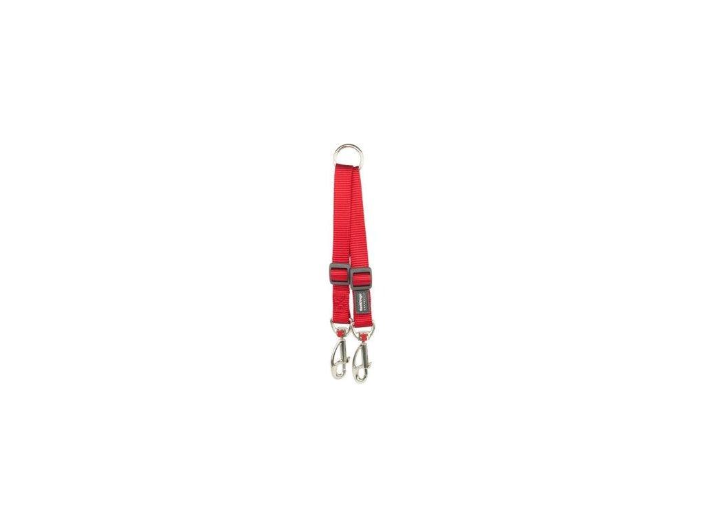 Rozdvojka Red Dingo 12 mm x 17 22 cm Červená