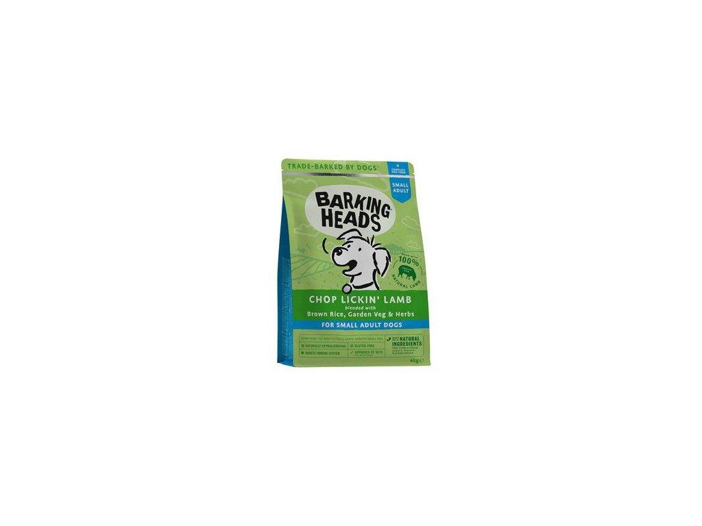 BARKING HEADS Chop Lickin' Lamb (Small Breed) 4 kg