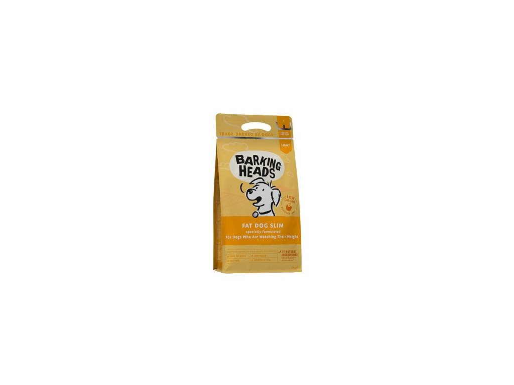 BARKING HEADS Fat Dog Slim NEW 2 kg