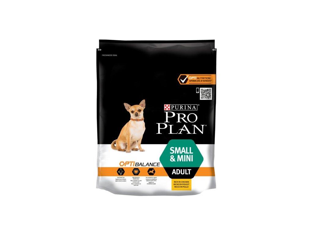 1271 1 pro plan small mini adult optibalance kureci 700 g