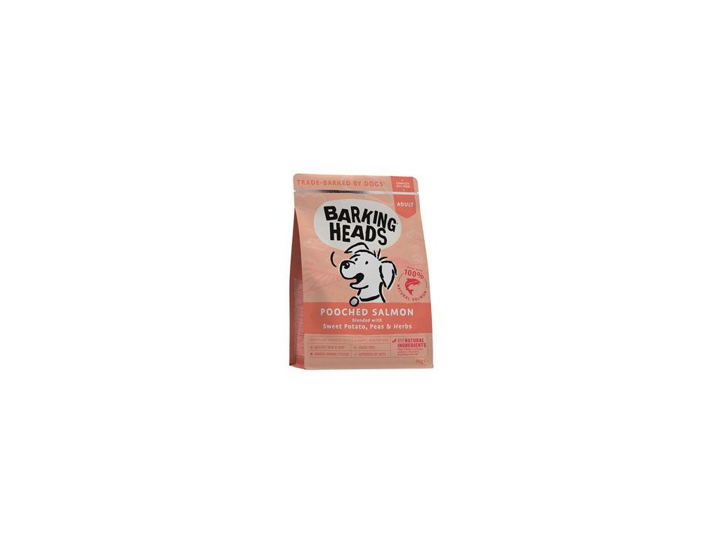 BARKING HEADS Pooched Salmon 1 kg