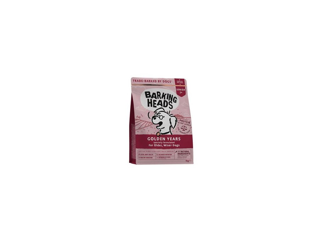 BARKING HEADS Golden Years NEW 1 kg