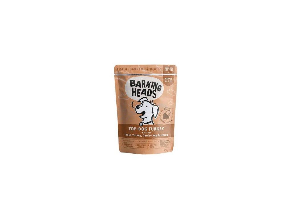 BARKING HEADS Top Dog Turkey kapsička 300 g