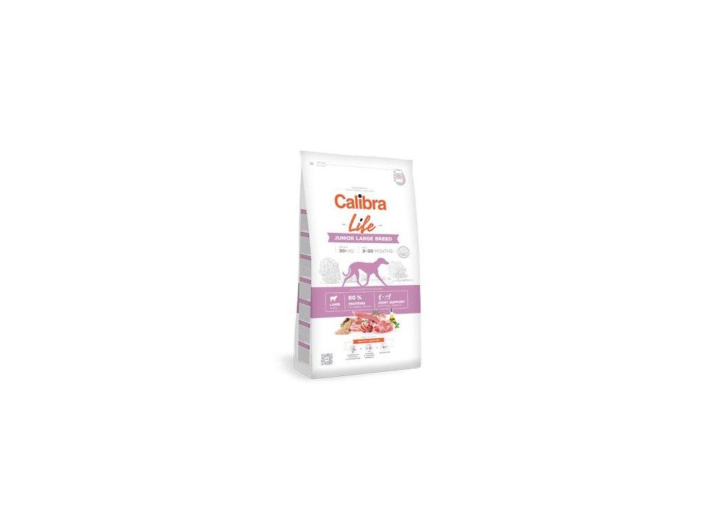 Calibra Dog Life Junior Large Breed Lamb 12 kg