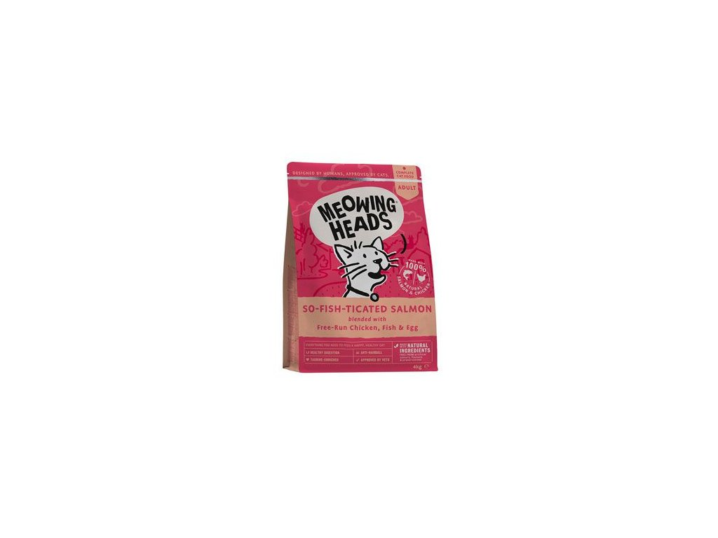 MEOWING HEADS So fish ticated Salmon 4 kg