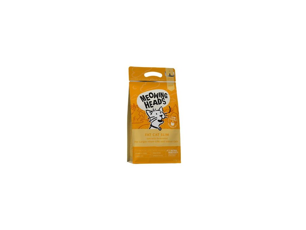 MEOWING HEADS Fat Cat Slim NEW 1,5 kg