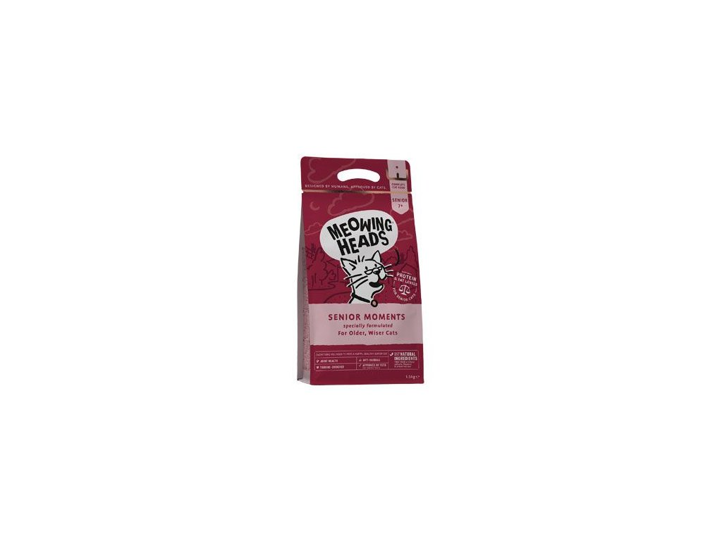 MEOWING HEADS Senior Moments NEW 1,5 kg
