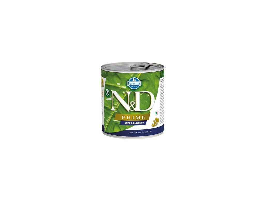 N&D DOG PRIME Adult Lamb & Blueberry 285 g