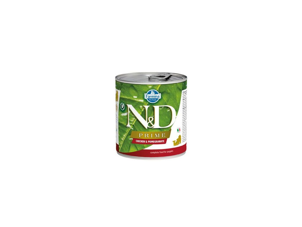 N&D DOG PRIME Puppy Chicken & Pomegranate 285 g