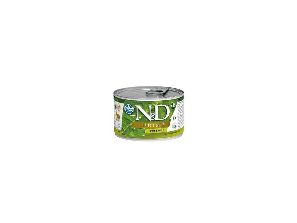 N&D DOG PRIME Adult Boar & Apple Mini 140 g