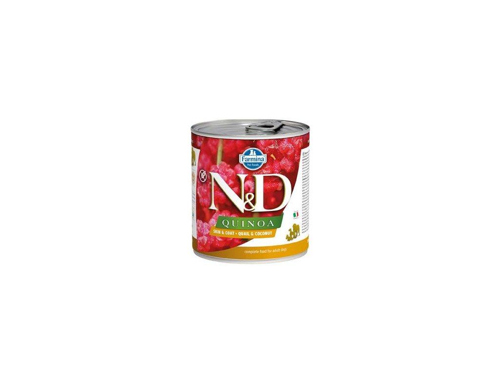N&D DOG QUINOA Adult Quail & Coconut 285 g