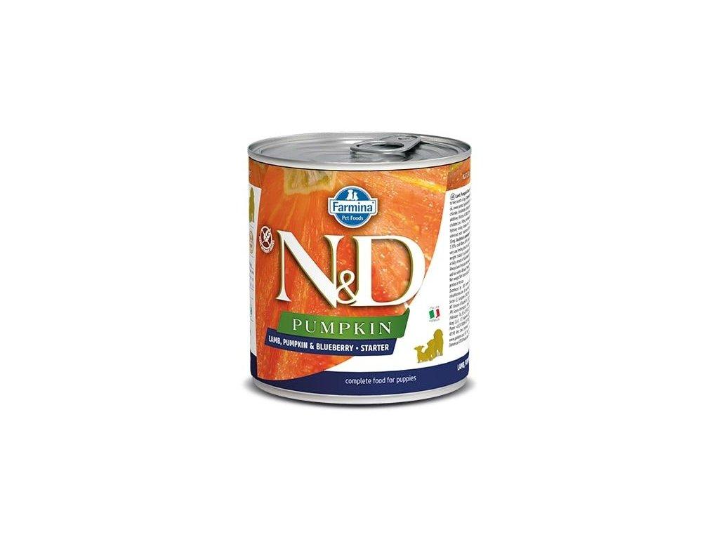 N&D DOG PUMPKIN Starter Lamb & Blueberry 285 g