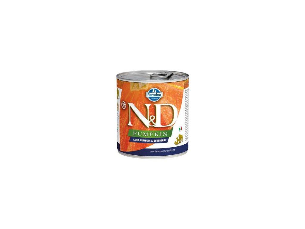 N&D DOG PUMPKIN Adult Lamb & Blueberry 285 g