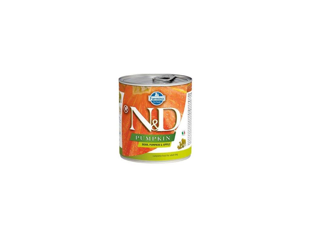 N&D DOG PUMPKIN Adult Boar & Apple 285 g