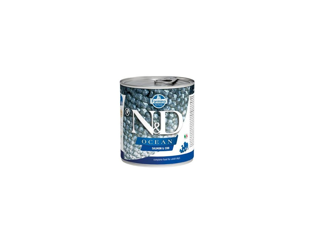 N&D DOG OCEAN Adult Salmon & Codfish 285 g