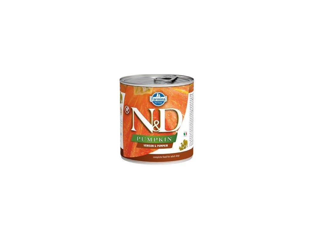 N&D DOG PUMPKIN Adult Venison & Pumpkin 285 g
