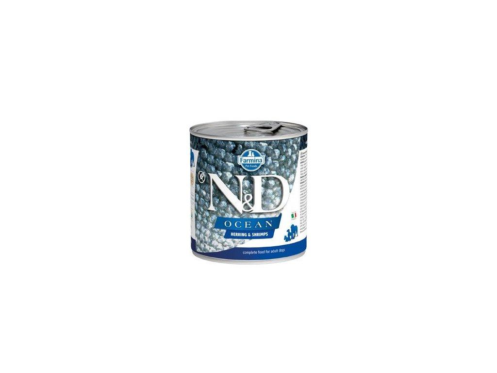N&D DOG OCEAN Adult Herring & Shrimps 285 g