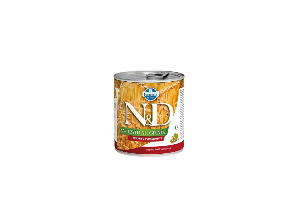 N&D DOG LOW GRAIN Adult Chicken & Pomegranate 285 g