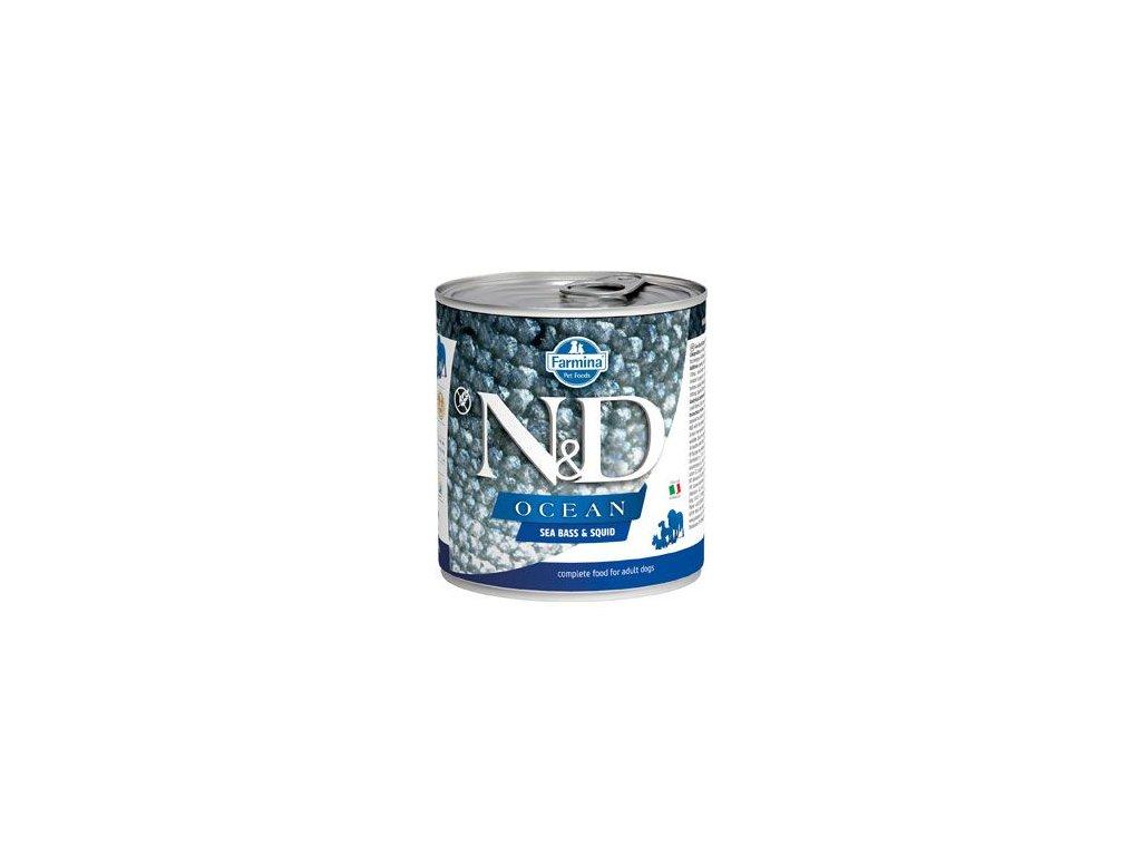 N&D DOG OCEAN Adult Codfish & Squid 285 g